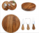 7' Cheese Board and tools set